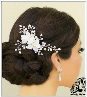 مدل مو عروس به سبک عروس های اروپایی