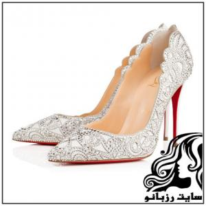 شیک ترین مدل کفش های عروس خانم ها