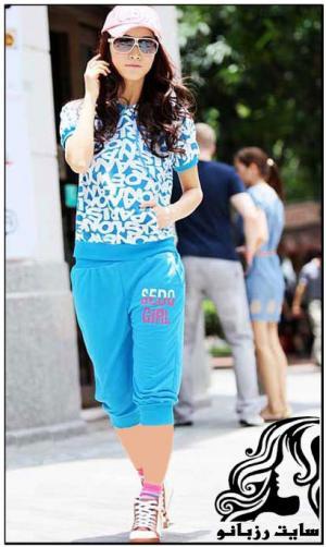 مدل لباس اسپرت دخترانه - سری اول