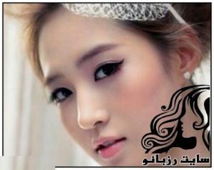 مدل های زیبای آرایش عروس کره ای
