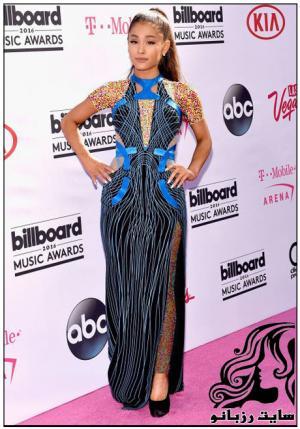 مدل لباس ستارگان در مراسم جوایز بیلبورد
