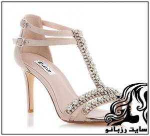 جدیدترین کفش های عروس پاشنه بلند