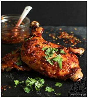 طرز تهیه کباب ران مرغ تایلندی