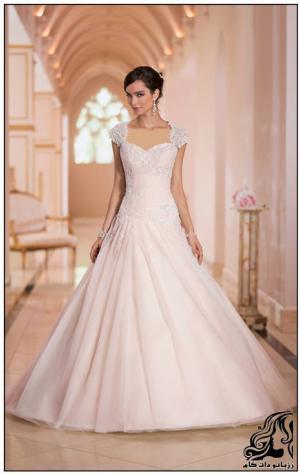 لباس عروس زیبا و شیک بدوزید