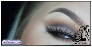 مدل آرایش چشم به سبک Haley Myers