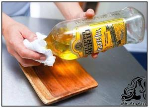 روش نوسازی ظروف چوبی شما