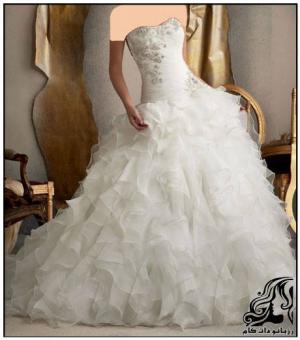 مدل های زیبا و متفاوت لباس عروس
