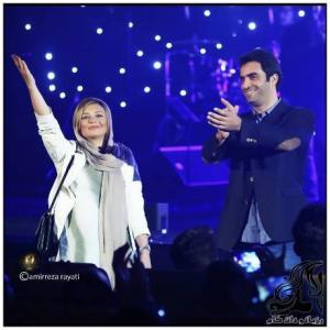 تصاویر تک یکتا ناصر و همسرش