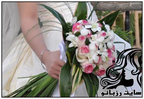 تصاویر دسته گل های شیک عروس