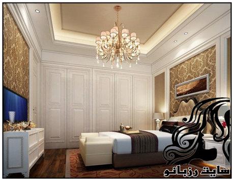 مدل های زیبای لوستر اتاق خواب
