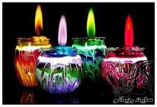 بکارگیری صحیح و مفید از شمع