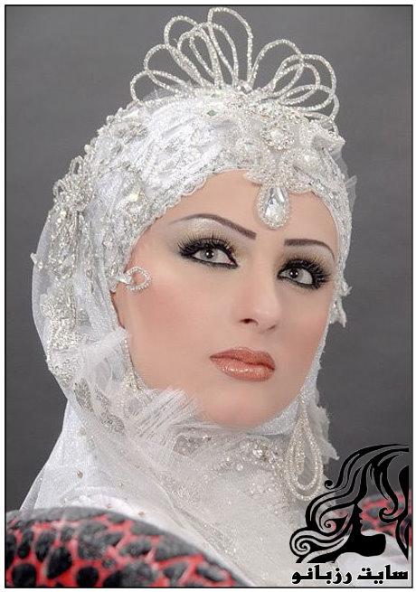 مدل های جدید تور عروس محجبه