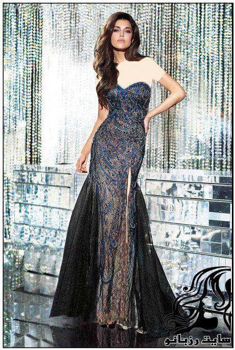 شیک ترین مدل های لباس شب 2016