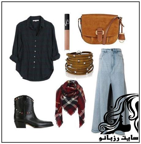 ایده های جالب و زیبای ست لباس