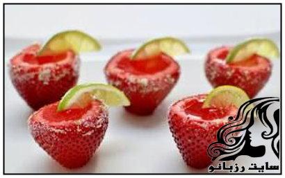دسری زیبا با طعم توت فرنگی