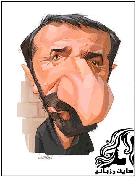 کاریکاتور چهره بازیگران معروف و مشهور