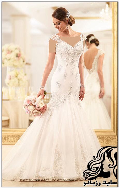 خوش پوش ترین مدل های لباس عروس