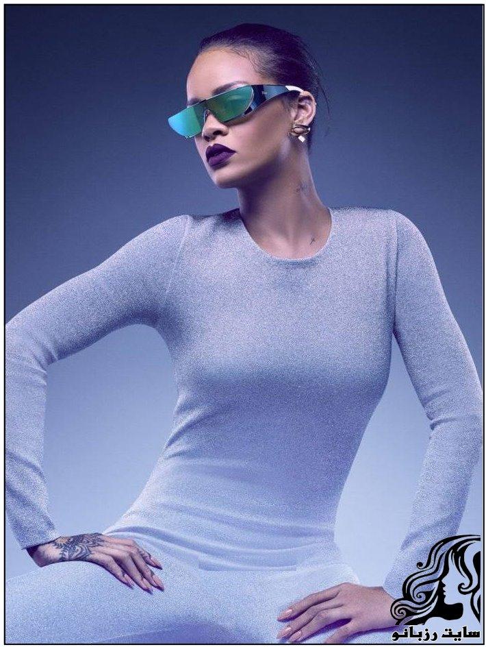 تصاویر ریحانا در تبلیغات Christian Dior
