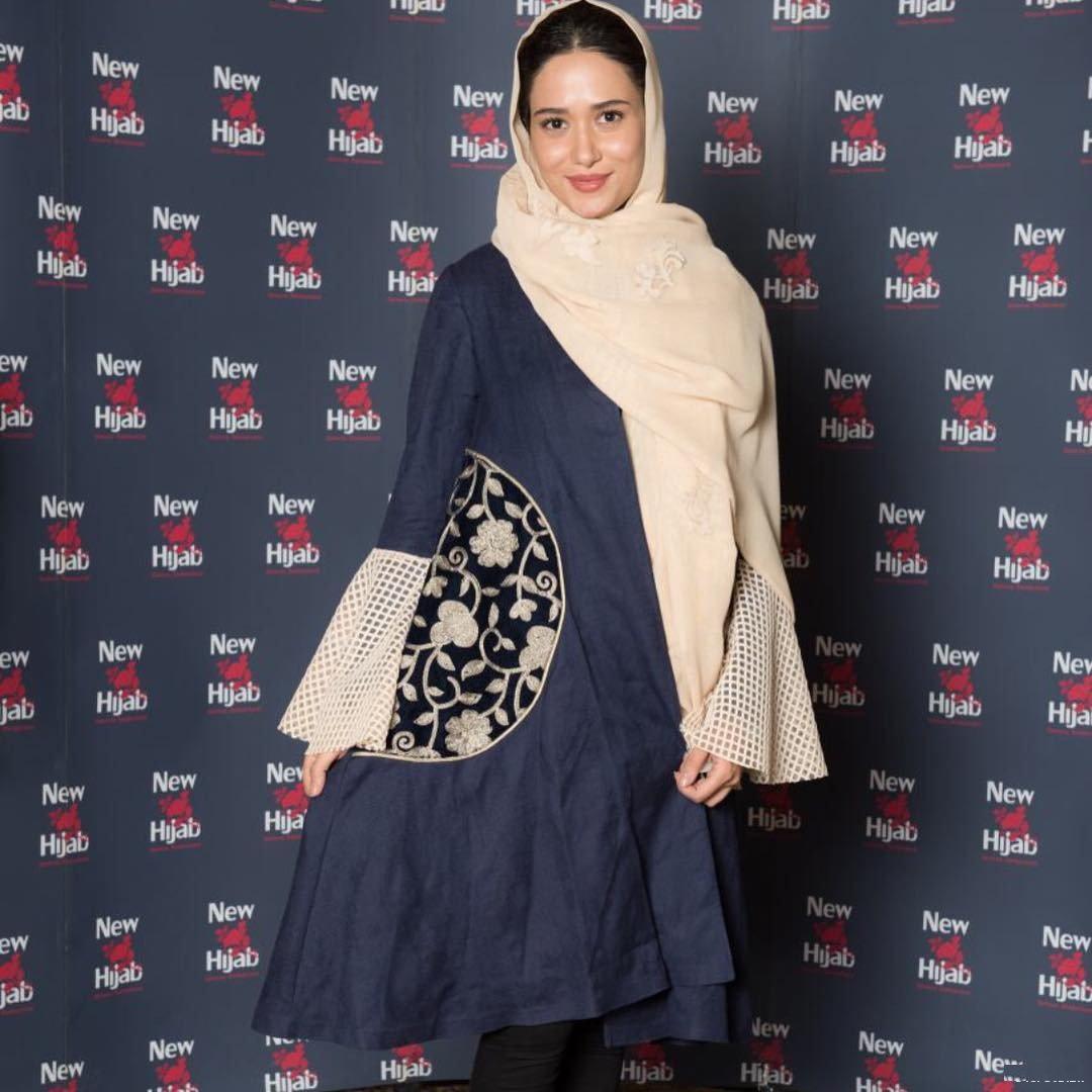 تصاویر پریناز ایزدیار در فروشگاه نیو حجاب