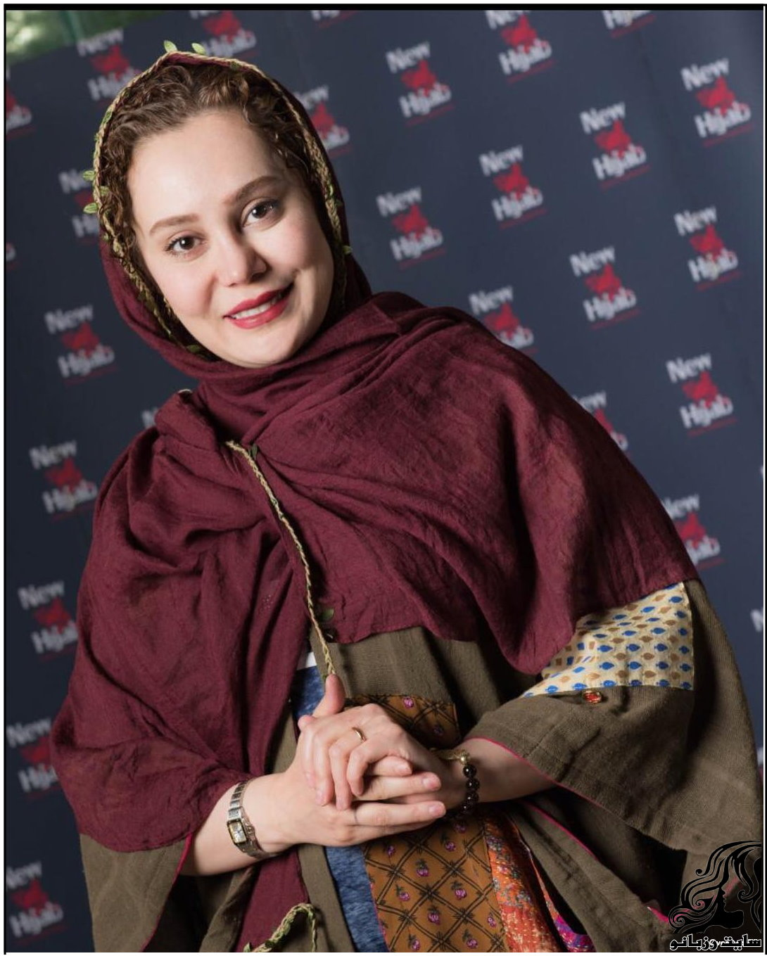 تصاویر آرام جعفری در فروشگاه نیو حجاب