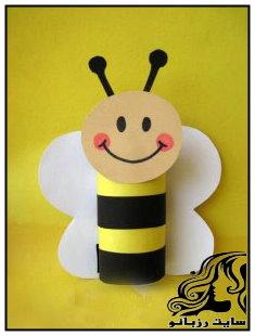 آموزش ساخت کاردستی زنبور