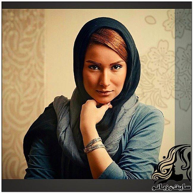 بستن شال به سبک بازیگران زن ایرانی