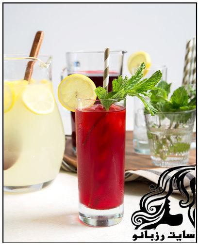 آموزش تهیه نوشیدنی لیموناد ترش نعنایی