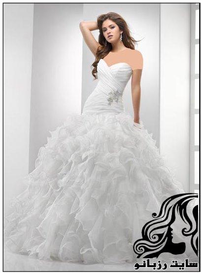 مجموعه ای از مدل های زیبای لباس عروس 2016