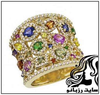 مجموعه ی انگشترهای جواهر effy jewelry
