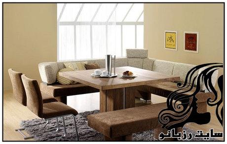 کلکسیونی از جدیدترین مدل میز و صندلی غذاخوری