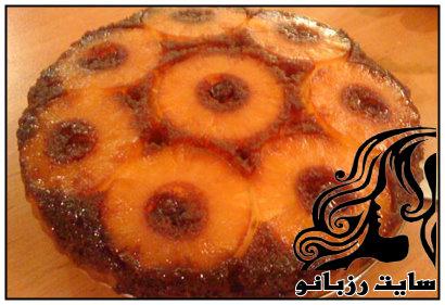 آموزش تهیه کیک شکلات و آناناس