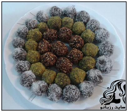 آموزش تهیه توپک خرمایی برای سفره افطار ماه رمضان