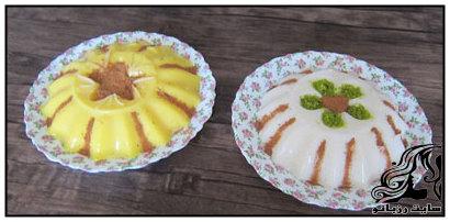 تهیه فرنی بستنی مخصوص ماه رمضان