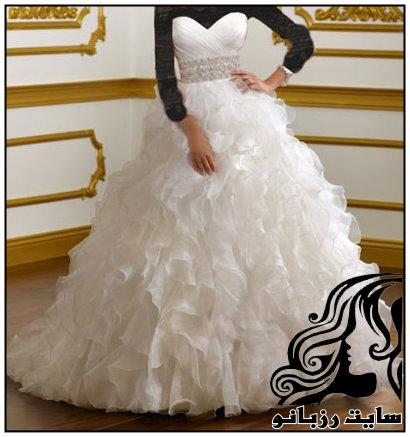 خوش استایل ترین مدل های  لباس عروس 2016