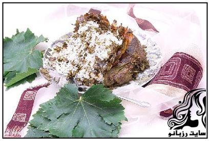 آموززش تهیه تاک پلو غذای محلی شاهرود