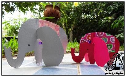 ساخت کاردستی فیل