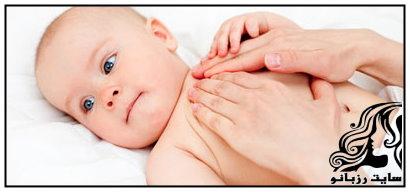 ماساژ عاملی برای تسکین درد کودکان!