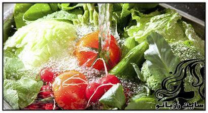 ساخت محلول خانگی برای ضدعفنونی سبزیجات