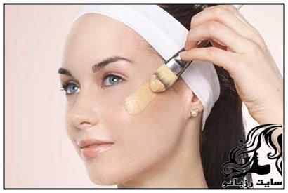 تکنیک آرایشی برای پوشاندن جوش های صورت