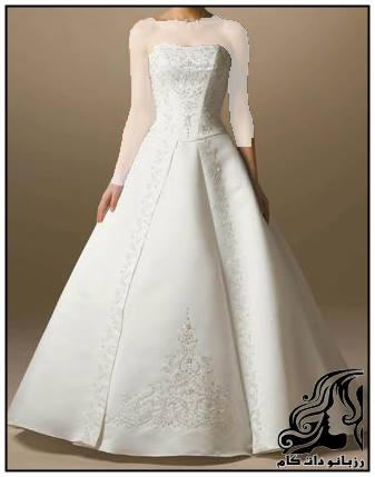 زیبا ترین مدل لباس های عروس