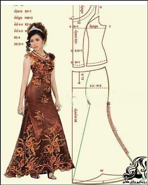 جدیدترین و شیک ترین مدل لباس شب