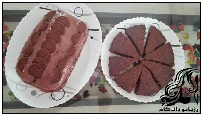 طرز تهیه کیک خیس شکلاتی