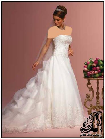 خوش استایل ترین مدل لباس عروس های 2016