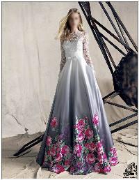 جدیدترین مدل های لباس مجلسی بلند گیپور