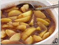 طرز تهیه دسر سیب معطر