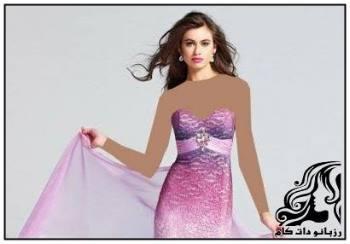 لباس مجلسی زنانه زیبا برند Red By Kittychen