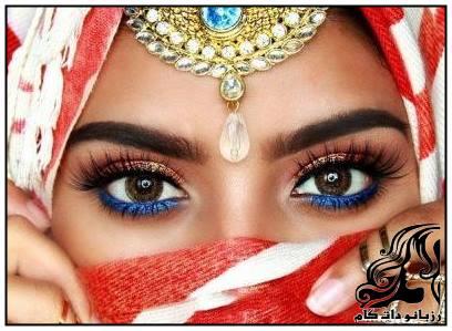 آرایش چشم هندی عروس به سبک Jeeshan Umar