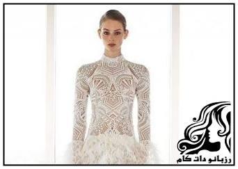 لباس مجلسی زیبا و خاص از برند Jonathan Simkhai