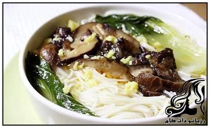 سوپ زنجبیل و قارچ خوشمزه