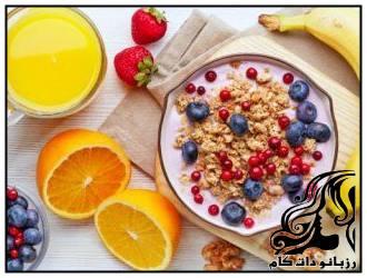 انتخاب های خوب برای صبحانه کودکان مدرسه ای